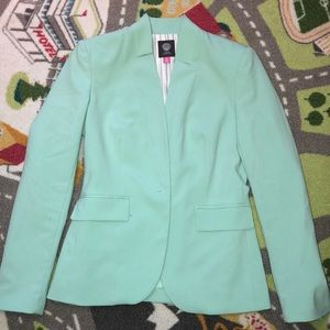 Vince Camino minty green blazer